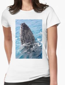 Humpback whale Womens Fitted T-Shirt