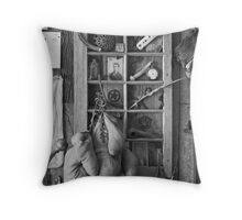 Window Thru Time Throw Pillow
