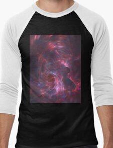 God's Vagina   Fractal Starscape Men's Baseball ¾ T-Shirt
