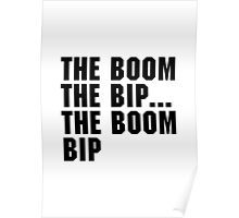 The Boom Bip Poster
