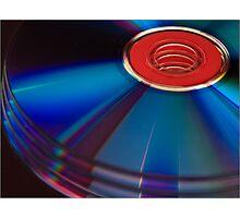 Abstract discs Photographic Print