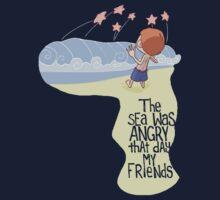Angry Sea by caanan