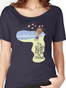 Angry Sea Women's Relaxed Fit T-Shirt