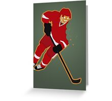 Gingerbread Red Wing Greeting Card