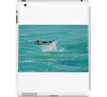 Manta Ray Leaping iPad Case/Skin