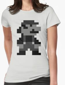 SuperMarioLand Standing Womens Fitted T-Shirt