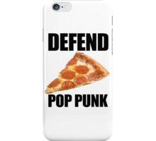 Defend Pop Punk! iPhone Case/Skin
