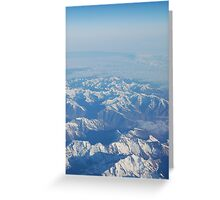 Pyrenees Landscape Greeting Card