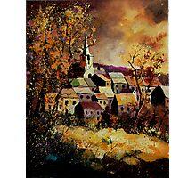 Houyet in autumn Photographic Print