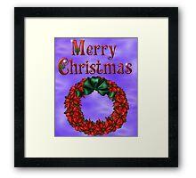 Merry Christmas 4 Framed Print