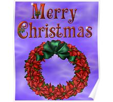 Merry Christmas 4 Poster