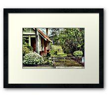 The Leslie Framed Print