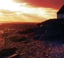 Nanny Cottage Sunrise Sticker