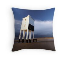 Leaning Lighthouse Throw Pillow