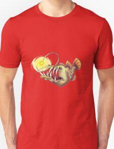 deep sea angler fish T-Shirt
