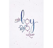 "Harry Potter ""The Boy Who Lived"" Photographic Print"