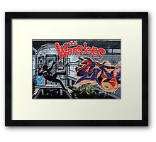 Street Art: global edition # 44 - Who are the Warriors? Framed Print