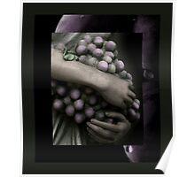 Great Grape Goddess' Grip Poster