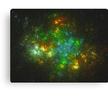 The Shire Being Overtaken by a Wild World | Fractal Starscape Canvas Print
