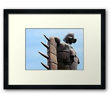 Japan Reloaded - Sky Robot Framed Print