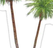 Palms on the Island Sticker