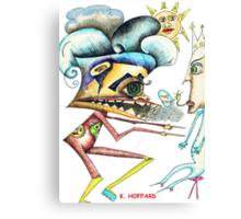 Alien War Canvas Print
