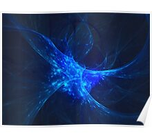 A Neuron Mid Thought | Fractal Starscape Poster