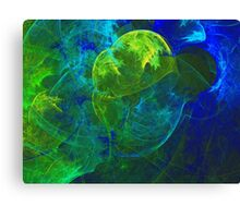 The Youthful Brain is like a Tree and Requires Nourishment and Light To Grow | Fractal Starscape Canvas Print