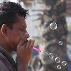 bubble blower by Marie Tixier-Brennan