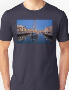 still water reflections Unisex T-Shirt