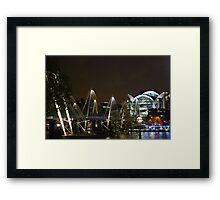 Waterloo at night Framed Print