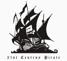 21st Century Pirate Kids Tee