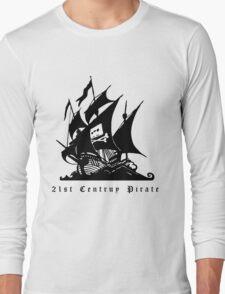 21st Century Pirate Long Sleeve T-Shirt