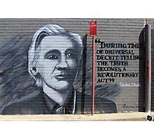 Street Art: global edition # 37 - Wikileaks Photographic Print