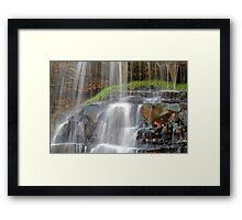 The Water is Falling Framed Print