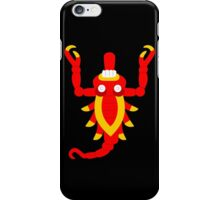 Aztec scorpion V2 iPhone Case/Skin