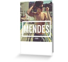 Mendes Greeting Card