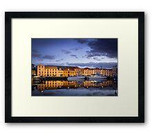 Hobart - Waterfront Framed Print