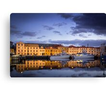 Hobart - Waterfront Canvas Print