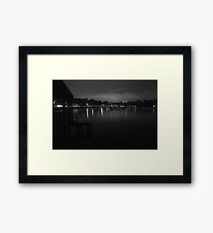 Rose Bay #3 Framed Print