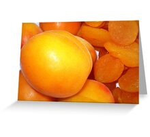Apricots - Before & After Greeting Card
