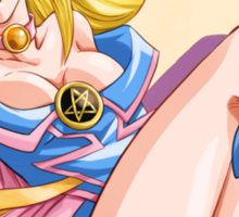 Yu-Gi-Oh! Dark Magician girl, supermodel Sticker