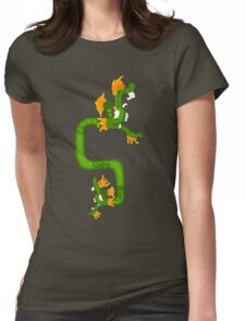 Boidae snake Womens Fitted T-Shirt