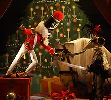 Nut Cracker Window Display by wolfllink
