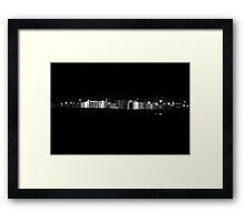 Urban Landscape # 16 Kurnell by Night Framed Print