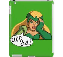 Uff Da! iPad Case/Skin