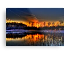 Lillie Park Sunset Metal Print