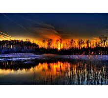 Lillie Park Sunset Photographic Print