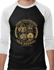 TIME TRAVELERS OLD SCHOOL Men's Baseball ¾ T-Shirt