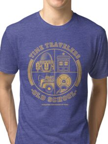 TIME TRAVELERS OLD SCHOOL Tri-blend T-Shirt
